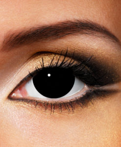 Mini Sclera Black Contact Lenses