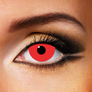 Mini Sclera Red Contact Lenses