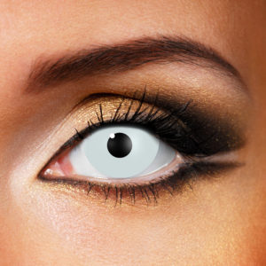 White Mini Sclera Contact Lenses