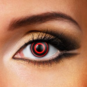 Bullseye Contact Lenses