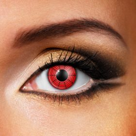 Red Web Contact Lenses