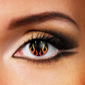 Hells Flame Contact Lenses
