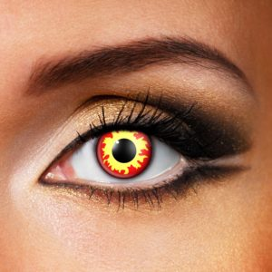 Flame Eyes Contact Lenses