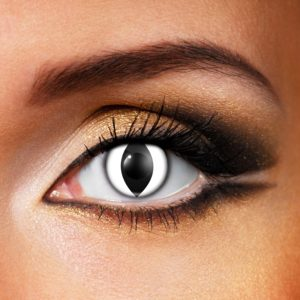 White Cat Eye Contact Lenses