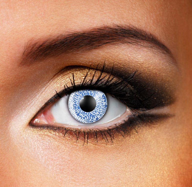 Blue One Tone Contact Lenses