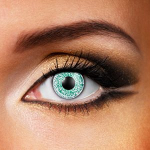 Aqua One Tone Contact Lenses