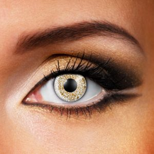 Hazel One Tone Contact Lenses
