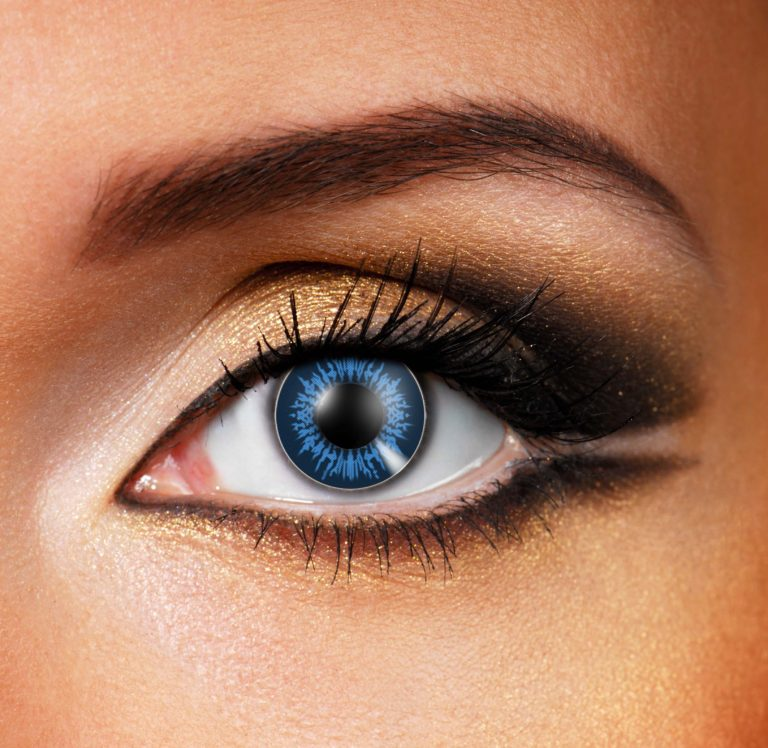 Big Dolly Eye Cool Blue Contact Lenses