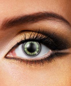 Big Eye Party Green Contact Lenses
