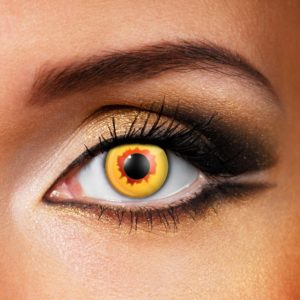 Gold Vampire Contact Lenses