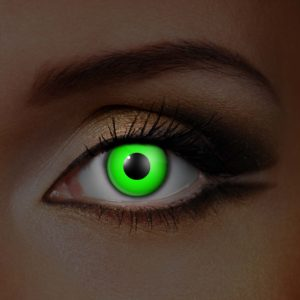 Green UV Contact Lenses