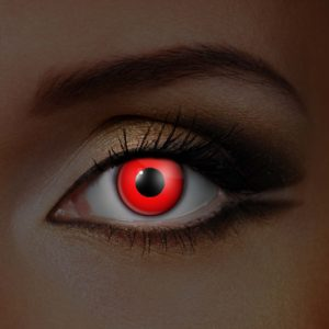 Red UV Contact Lenses