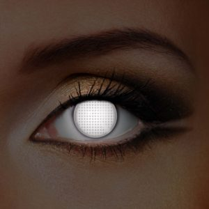 White screen UV Contact Lenses