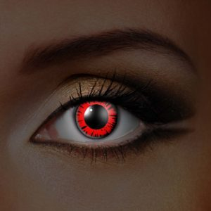 Big Red UV Contact Lenses