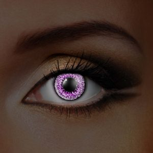 Amethyst UV Contact Lenses