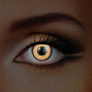 Honey UV Contact Lenses