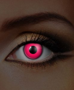 Pink UV Contact Lenses
