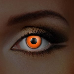 Orange UV Contact Lenses